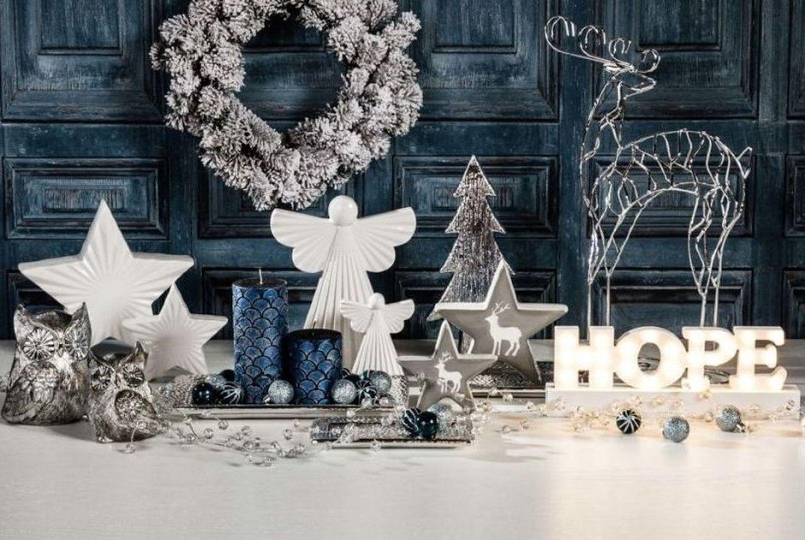 Świąteczne dekoracje potrafią odmienić wygląd domu. Fot. Agata