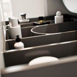 Organizer w szufladzie łazienkowej. Fot. Deftrans