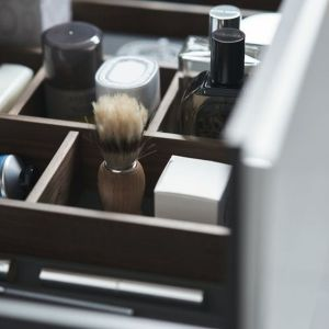 """Organizer w szufladzie """"L-Cube"""" marki Duravit. Fot. Duravit"""