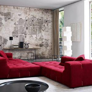 Zestaw wypoczynkowy Tufty-too firmy B&B Italia. Projekt: Patricia Urquiola. Fot. B&B Italia