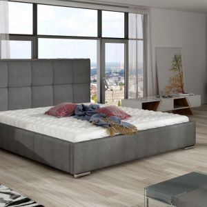 "Łóżko tapicerowane ""Cortina"" marki Comforteo. Fot. Comforteo"