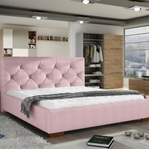 """Łóżko tapicerowane """"Elektra"""" marki Comforteo. Fot. Comforteo"""