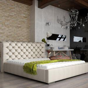 """Łóżko tapicerowane """"Manchester"""" marki Comforteo. Fot. Comforteo"""