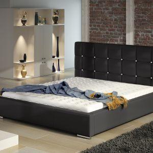 Łóżko tapicerowane Tessa Crystal marki Comforteo. Fot. Comforteo