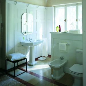 """Seria """"1930"""" nadaje łazience powiew romantyzmu i nieco nostalgii. Fot. Duravit"""