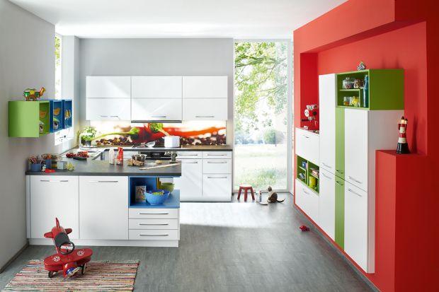 Kolorowe akcenty w kuchni - nie tylko dla odważnych