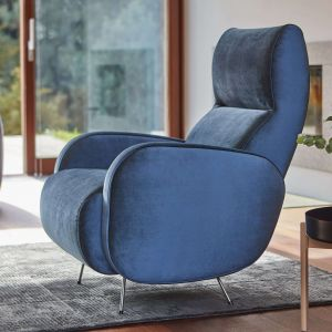 Fotel Viva marki Bizzarto umożliwia wygodne ułożenie pleców. Fot. Bizzarto
