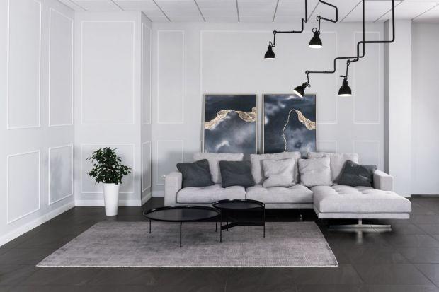 """Most"" - sofa na metalowych nogach"