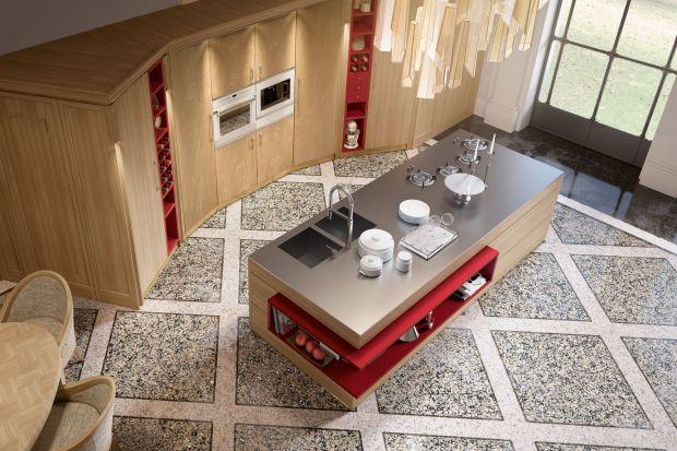Wyspa kuchenna nie musi koniecznie być prostą bryłą o regularnych kształtach i wymiarach proporcjonalnych do pozostałych mebli i całego pomieszczenia. Wręcz przeciwnie - może zaskakiwać, zadziwiać, budzić kontrowersje i... zachwyt.
