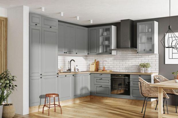 Meble kuchenne - w tym roku modne będą zabudowy z ozdobnymi frezami!