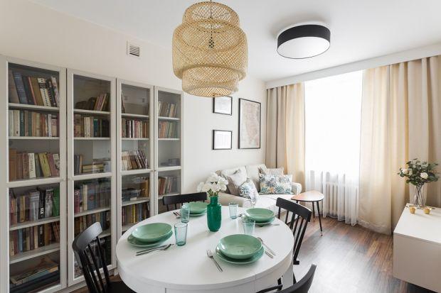 Jak powiększyć małe mieszkanie - zobaczcie realizację pełną pomysłowych rozwiązań