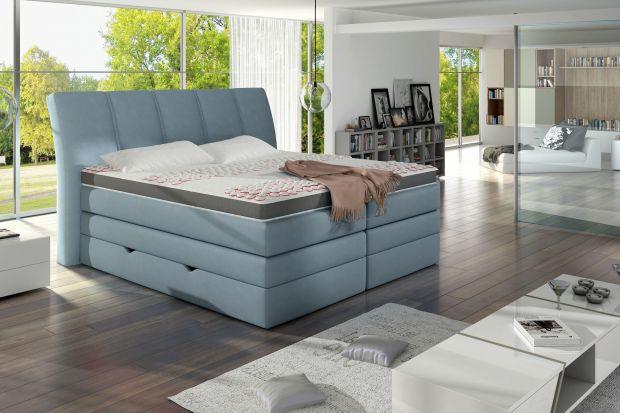 """""""Korfu"""" to łóżko dla osób, które lubią łamać schematy. Prosta bryła zyskuje na wyrazistości dzięki dużej wysokości posłania i kształtom nadającym jej lekkości oraz """"puszystości""""."""