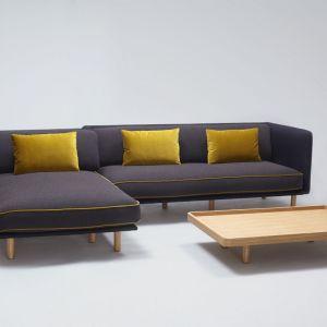 "Narożnik ""Palafitte"" firmy Comforty. Projekt: Lucidi Pevere. Fot. Comforty/Ernest Winczyk"