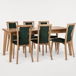 Krzesła i stół Vasco marki Paged Meble. Fot. Paged Meble