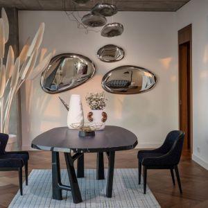 Sky Loft - najnowszy apartament na Złotej 44. Projekt: pracownia Kooku. Fot. Kooku