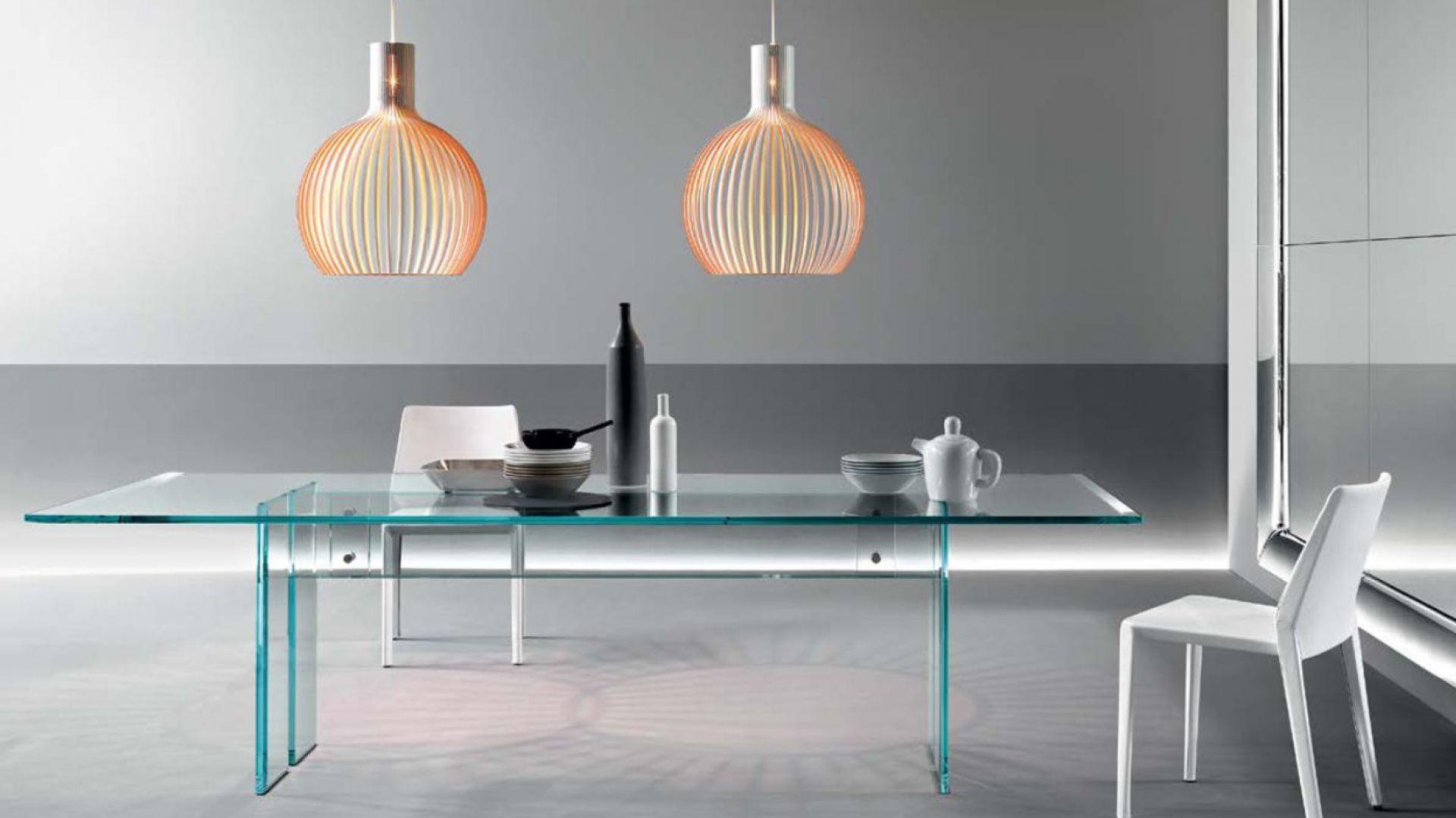 Как выбрать качественный и красивый стеклянный стол