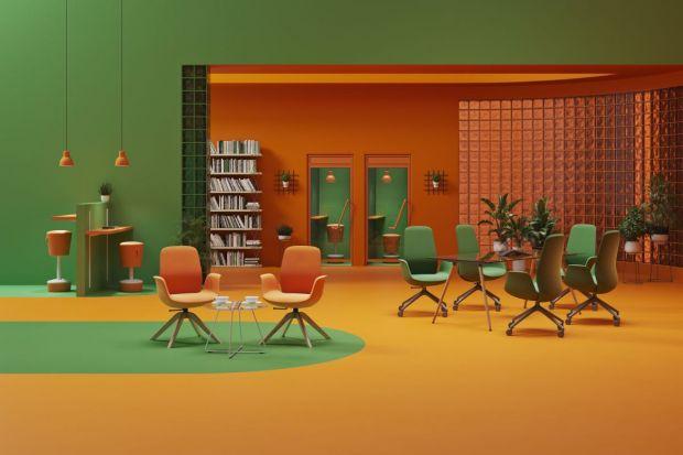 """Kolekcja """"Ellie Pro"""" powstała z myślą o przestrzeniach co-workingowych oraz collaborative, jednak jej wszechstronność i wielofunkcyjność sprawiają, że doskonale sprawdzi się także w biurach, salach konferencyjnych, gabinetach czy hote"""
