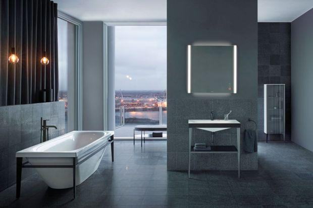 """Kolekcja mebli łazienkowych """"XViu"""" emanuje industrialną elegancją, wyrażającą się w organicznych i geometrycznych formach."""