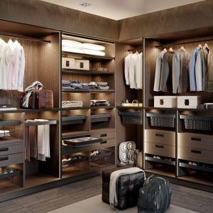 """Wnętrze garderoby """"Elite"""". Fot. GTV"""