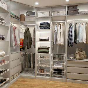 """Wnętrze garderoby """"Smart"""". Fot. GTV"""
