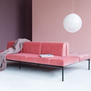 """Sofa """"Sona"""" firmy Noti. Projekt: Maja Ganszyniec. Fot. Noti"""
