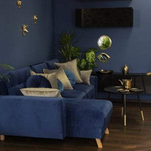 Decydując się na zakup mebli tapicerowanych, należy rozsądnie wybrać rodzaj tkaniny. Do wyboru jest wiele tekstyliów, a do najbardziej popularnych zalicza się szenile i welury. Fot. Make Home