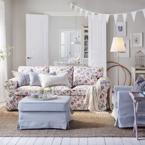 Styl skandynawski może być połączony z nutą romantyzmu. Fot. IKEA
