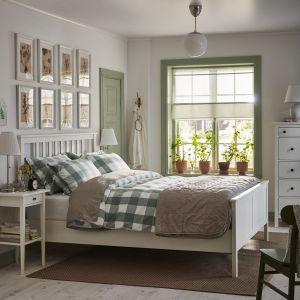 Wakacyjna sypialnia według marki IKEA. Fot, IKEA