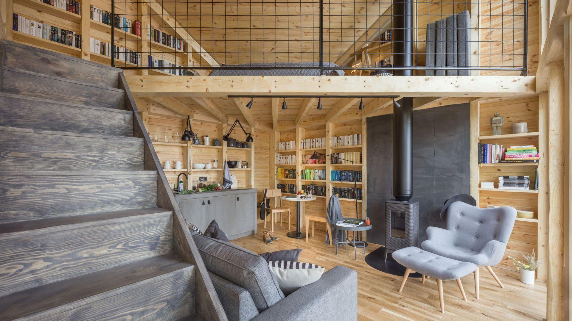 Bookworm Cabin. Fot. Ernest Winczyk