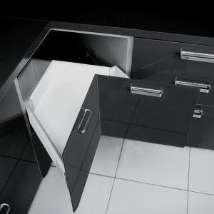 "System narożny ""Modern Box"" (niski) firmy GTV. Fot. GTV"