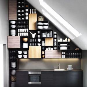 Kuchnia usytuowana na poddaszu. Fot. IKEA