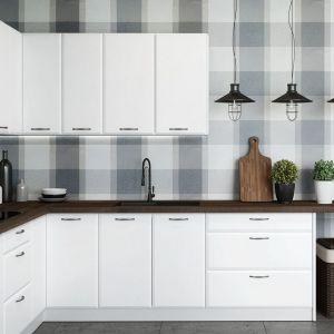 """Kuchnia """"Irving"""" w kolorze białej satyny to uniwersalne rozwiązanie, które rozjaśni każdą przestrzeń. Fot. Classen"""