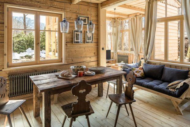 Zobaczcie piękne wnętrze wiekowego zakopiańskiego domu