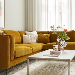 "Sofa ""Sigge"" firmy Sits. Projekt: Steven Schilte. Fot. Sits"