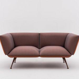 """Sofa """"Altair"""" firmy Comforty. Projekt: Towarzystwo Projektowe. Fot. Comforty/Ernest Winczyk"""