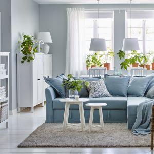 Salon wyposażony meblami IKEA. Fot. IKEA