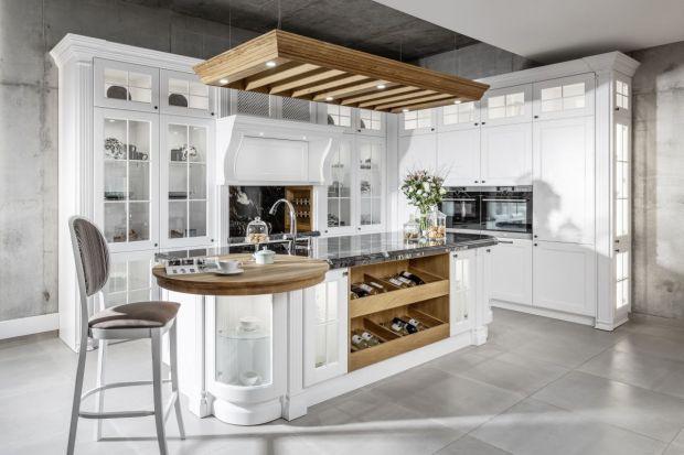 """Kolekcja mebli kuchennych """"Bristol"""" stanowi połączenie pełnej smaku przeszłości z funkcjonalną teraźniejszością."""