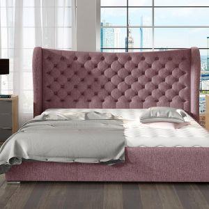 "Łóżko tapicerowane ""Lancaster"" marki Comforteo. Fot. Comforteo"