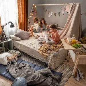 W pokojach dziecięcych sprawdzą się meble wielofunkcyjne. Fot. Vox