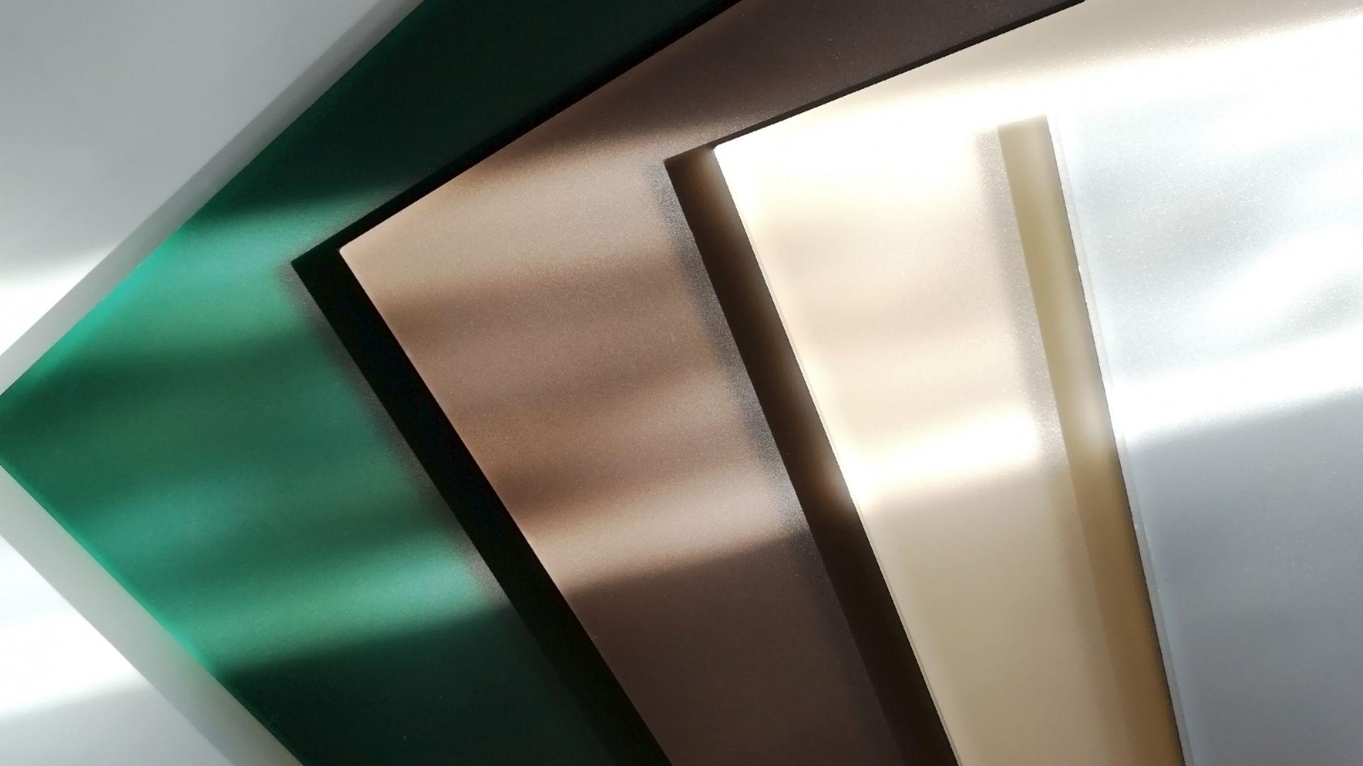 Kolory szkła lakierowanego matowego z kolekcji Colorimo Sati 2019