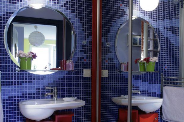 Łazienka dla dzieci – wakacyjne wnętrze tuż nad Bałtykiem