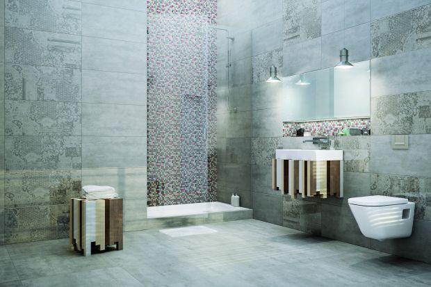 Nie trzeba umieć szyć, aby łazienkę ubrać w patchworkowy wzór. Projektanci, zainspirowani starą techniką ręcznych robótek, przenoszą go na płytki ceramiczne.