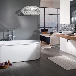 Miniwanna Loop&Friends Square Duo marki Villeroy&Boch to model prostokątny, o ekologicznej pojemności ok. 150 l. Fot. Villeroy&Boch