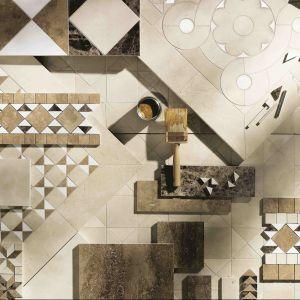 Marmurowe mozaiki z kolekcji Cosmati firmy Sicis. Fot. Sicis