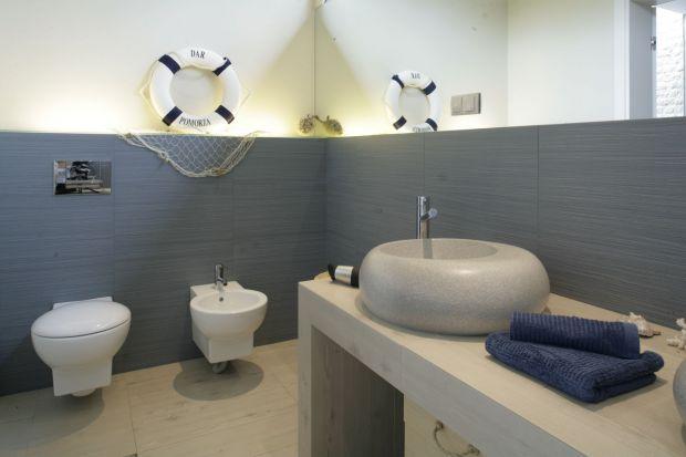 Łazienka w morskim stylu – zobacz wnętrze inspirowane Bałtykiem
