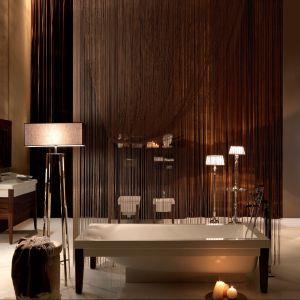 W stylu bohemy z początku XX wieku – salon kąpielowy z kominkiem i wyposażenie z kolekcji Bentley firmy Kerasan. Fot. Kerasan