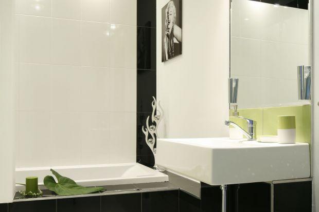 Z twarzą Marylin Monroe – elegancka łazienka dla niej i dla niego