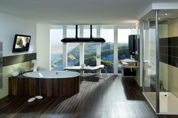 Telewizor w łazience. Zobacz przykłady nowoczesnych rozwiązań