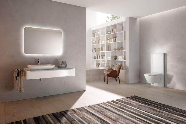 Dzięki nim można ciekawie kształtować przestrzeń łazienki w strefie sedesu. Projektować półki, szafki, schowki czy podświetlane wnęki. Stelaże i moduły instalacyjne pozwalają także ukryć wszelkie rury.