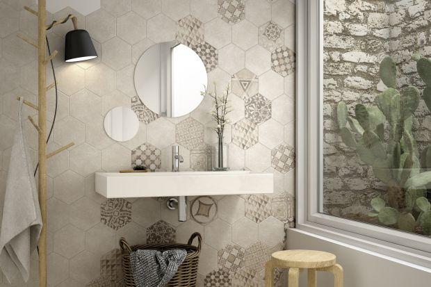 To jeden z najmodniejszych formatów! Sześciokątne płytki są bardzo modne w łazienkach. Można je układać na ścianach i podłodze. Oto nowości z targów Cevisama 2015 w hiszpańskiej Walencji.